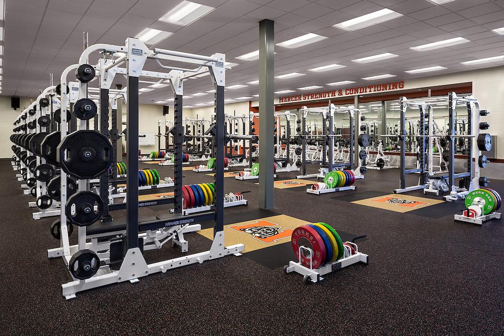 Mercer Fieldhouse Weightroom - Macon, GA