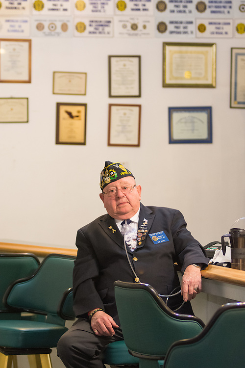 District 1 chaplain Danny Waldrop at American Legion Post 1 in Reno, Nev. before a System Worth Saving town hall on Tuesday, March 8, 2016. Photo by David Calvert /The American Legion.
