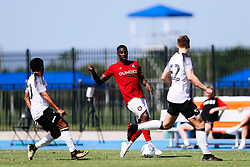 Hakeeb Adelakun of Bristol City during the 2nd leg of the match after the previous day's game was abandoned at half time due to extreme weather - Rogan/JMP - 14/07/2019 - IMG Academy, Bradenton - Florida, USA - Bristol City v Derby County - Pre-Season Tour Day 3.
