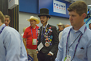 Scenes from the Republican National Convention in Cleveland, Ohio on July 19, 2016.