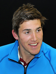 Somerset's Jamie Overton - Photo mandatory by-line: Harry Trump/JMP - Mobile: 07966 386802 - 28/04/15 - SPORT - CRICKET - LVCC Division One - County Championship - Somerset v Middlesex - Day 3 - The County Ground, Taunton, England.