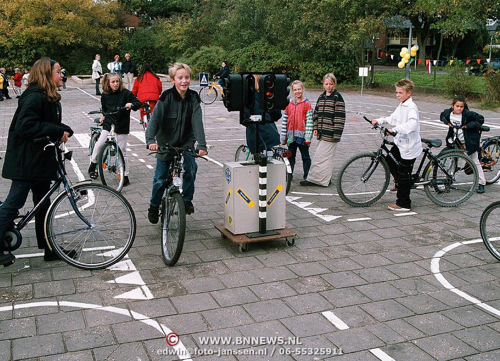 Verkeersproject van Brugghenschool Huizen