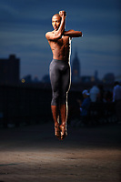 Dance As Art New York City Photography Project Brooklyn Heights Promenade Series with dancer Christopher R Wilson