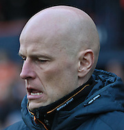Picture by David Horn/Focus Images Ltd +44 7545 970036.05/01/2013.Stale Solbakken, Manager of Wolverhampton Wanderers during the The FA Cup match at Kenilworth Road, Luton.