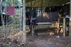 Colombia - FARC-EP Guerilla Camp - 15 Sep 2016
