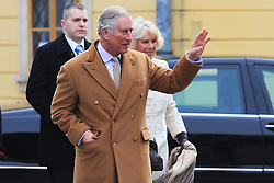 15.03.2016, Osijek, CRO, der Britische Kronprinz Charles und seine Frau Camilla besuchen Kroatien, im Bild British Crown Prince Charles and his wife Camilla, the Duchess of Cornwall, will visit Osijek. Osijek is the largest city in Slavonia, a region of eastern Croatia, which was on the front line of the war between Croatia and the Yugoslav Army between 1991 and 1995. EXPA Pictures © 2016, PhotoCredit: EXPA/ Pixsell/ Davor Javorovic<br /> <br /> *****ATTENTION - for AUT, SLO, SUI, SWE, ITA, FRA only*****