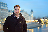 Rugby player Mike Philips pictured in Paris