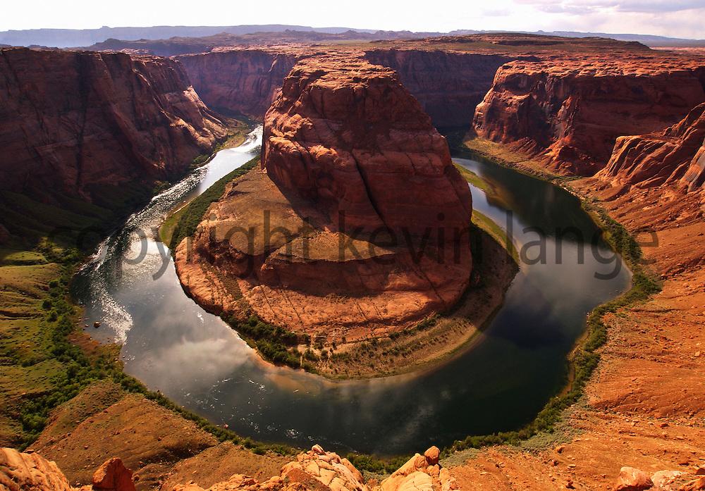 horseshoe bend, colorado river, page, arizona.