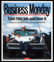 Business Monday - Take this Job and love it. <br /> Charlotte Observer<br /> Photo by Laura Mueller