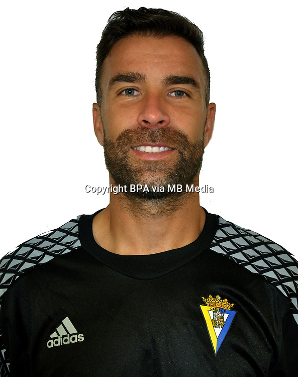 Spain - La Liga B 123 _ 2016-2017 / <br /> ( Cadiz C.F.) - <br /> Alberto Cifuentes Martinez