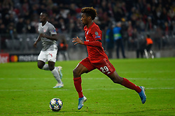 November 6, 2019, Munich, Germany: Kingsley Coman from Bayern seen in action during the UEFA Champions League group B match between Bayern and Olympiacos at Allianz Arena in Munich. (Credit Image: © Bruno De Carvalho/SOPA Images via ZUMA Wire)