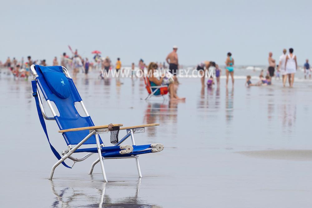 North Wildwood, New Jersey - Summer scenes on Aug. 11, 2013.