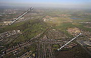aerial photograph of Handsworth Hill Sheffield West Yorkshire England UK