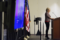 """US Representative Diane Black of Tennessee of Illinois, at the """"Congress of Tomorrow"""" Joint Republican Issues Conference, at the Loews Hotel, in Center City, Philadelphia, Pennsylvania, on January 25, 2017."""