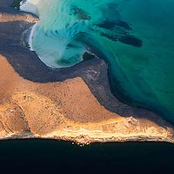 Isla Espíritu Santo in the Gulf of California, off the state of Baja California Sur, Mexico
