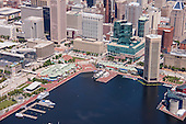 Baltimore Harbor Place Aerial Photography