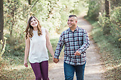 Nicole & Eric, engagement pictures at River Bluffs Park in Cambridge, Ontario