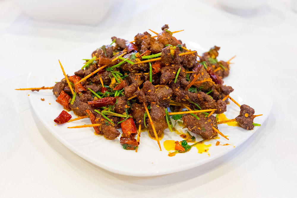 Toothpick Lamb w/ Cumin at Chengdu Taste ($20.80) - OFF: LA