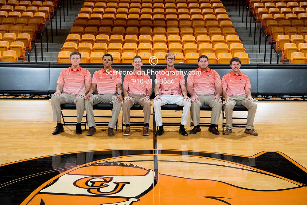 Campbell University Men's Basketball Team Shot