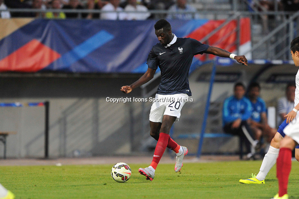 Tiemoue BAKAYOKO - 11.06.2015 - Football espoirs - France / Coree du Sud - Match amical -Gueugnon<br /> Photo : Jean Paul Thomas / Icon Sport