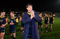 Donncha O'Callaghan of Worcester Warriors applauds the crowd - Mandatory by-line: Alex Davidson/JMP - 22/12/2017 - RUGBY - Sixways Stadium - Worcester, England - Worcester Warriors v London Irish - Aviva Premiership