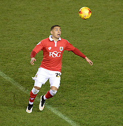Bristol City's James Tavernier - Photo mandatory by-line: Alex James/JMP - Mobile: 07966 386802 - 29/01/2015 - SPORT - Football - Bristol - Ashton Gate - Bristol City v Gillingham - Johnstone Paint Trophy Southern area final