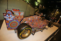 An art show car on display at an Inter / Sahara Force India F1 Team event.<br /> 26.10.2016. Formula 1 World Championship, Rd 19, Mexican Grand Prix, Mexico City, Mexico, Preparation Day.<br /> Copyright: Moy / XPB Images / action press