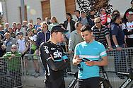 40° Giro del Trentino Melinda, 1 Tappa cronosquadre Riva del Garda -Torbole 12,1km Gianni Moscon 19 Aprile 2016 © foto Daniele Mosna