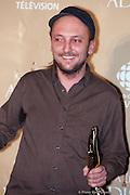 Bernard Adamus, gagnants d'un des 11 trophées Félix remis le 7 novembre 2010, lors de la 32e édition du Gala de l'ADISQ -  Theatre Saint-Denis / Montreal / Canada / 2010-11-07, © Photo Marc Gibert/ adecom.ca