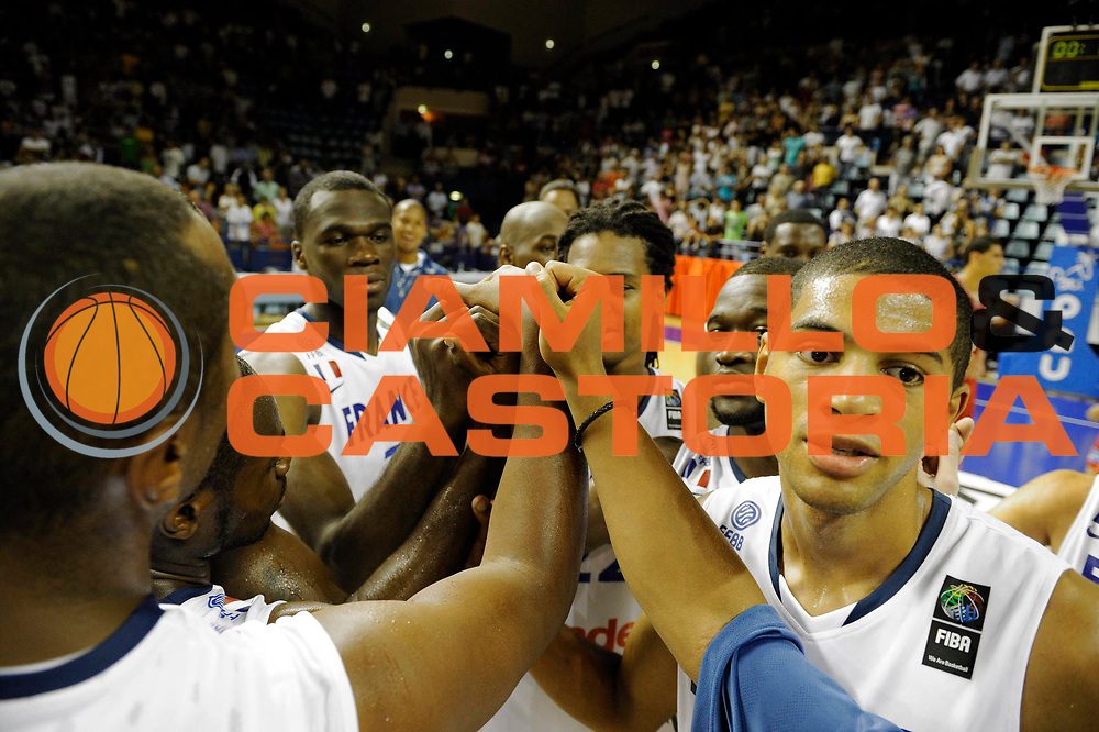 DESCRIZIONE : Equipe de France A Preparation Championnat du monde France Tunisie Homme Pau<br /> GIOCATORE : Batum France<br /> SQUADRA : France<br /> EVENTO : France Basket Homme 2010<br /> GARA : France Tunisie<br /> DATA : 07/08/2010<br /> CATEGORIA : Basketball Action Homme<br /> SPORT : Basketball<br /> AUTORE : JF Molliere FFBB par Agenzia Ciamillo-Castoria <br /> Galleria : France Basket Homme 2010 <br /> Fotonotizia : France A Homme 2009-10 France Tunisie Preparation Championnat du Monde Pau <br /> Predefinita :