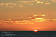 Sunrise on Sea of Cortez, Baja California Sur, Mexico