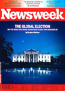 Newsweek cover of White House.
