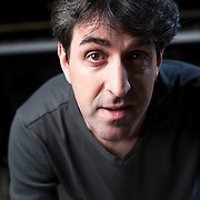 """December 19, 2013 - New York, NY : <br /> Tony award-winner Jason Robert Brown, who is working on the upcoming """"The Bridges of Madison County"""" musical, poses for a portrait at The New 42nd Street Studios in Manhattan on Thursday afternoon. <br /> CREDIT: Karsten Moran for The New York Times"""