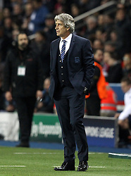 Manchester City Manager Manuel Pellegrini - Mandatory by-line: Robbie Stephenson/JMP - 06/04/2016 - FOOTBALL - Parc des Princes - Paris,  - Paris Saint-Germain v Manchester City - UEFA Champions League Quarter Finals First Leg