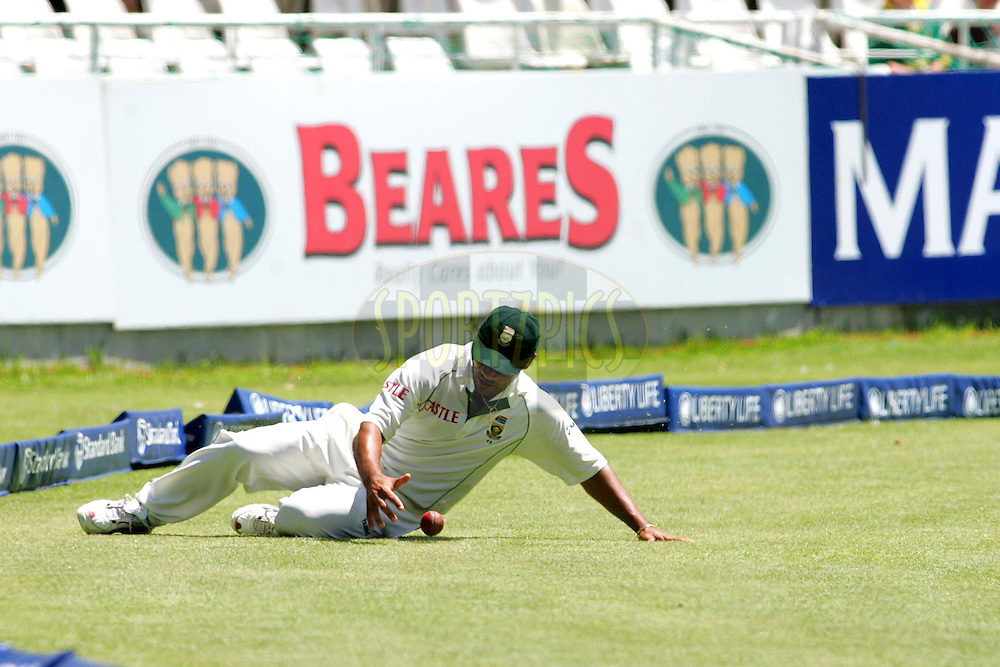 WESTERN CAPE, SOUTH AFRICA - 5th January 2007, Ashwell Prince during day 4 of the third test between South Africa and India held at Newlands Stadium, Cape Town...Photo by RG/Sportzpics.net..