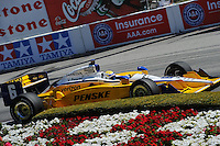 Ryan Briscoe, Toyota Grand Prix of Long Beach, Streets of Long Beach, Long Beach, CA USA 4/17/2011