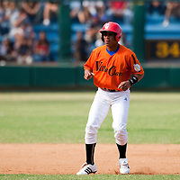 15 February 2009: Lionel Martin of the Occidentales is seen during a training game of Cuba Baseball Team for the World Baseball Classic 2009. The national team is pitted against itself, divided in two teams called the Occidentales and the Orientales. The Orientales win 12-8, at the Latinoamericano stadium, in la Habana, Cuba.