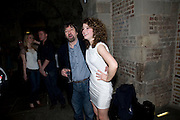 TREVOR NUNN; JESSIE BUCKLEY, A little Night Music press night. Garrick Theatre and afterwards at CafŽ in The Crypt, St Martin-in-the-Field. London. 7 April 2009<br /> TREVOR NUNN; JESSIE BUCKLEY, A little Night Music press night. Garrick Theatre and afterwards at Café in The Crypt, St Martin-in-the-Field. London. 7 April 2009