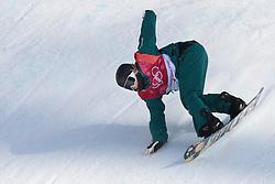 February 19, 2018 - Pyeongchang, SOUTH KOREA - 180219 Jessica Rich of Australia competes in the Women's Big Air Qualification during day ten of the 2018 Winter Olympics on February 19, 2018 in Pyeongchang..Photo: Carl Sandin / BILDBYRN / kod CS / 57999_306 (Credit Image: © Carl Sandin/Bildbyran via ZUMA Press)