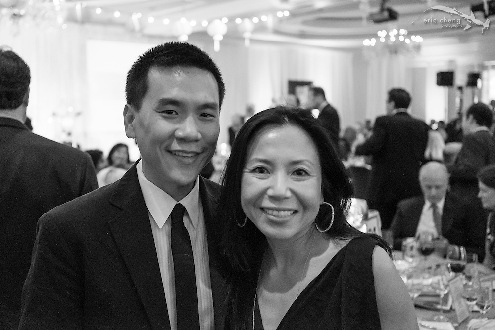 Eric Cheng and Sue Chen; WildAid Gala, November 15, 2014