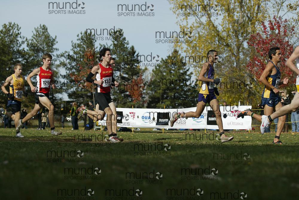 Ottawa, Ontario ---29-10-11--- The 2011 men's OUA XC Championships presented by Suunto