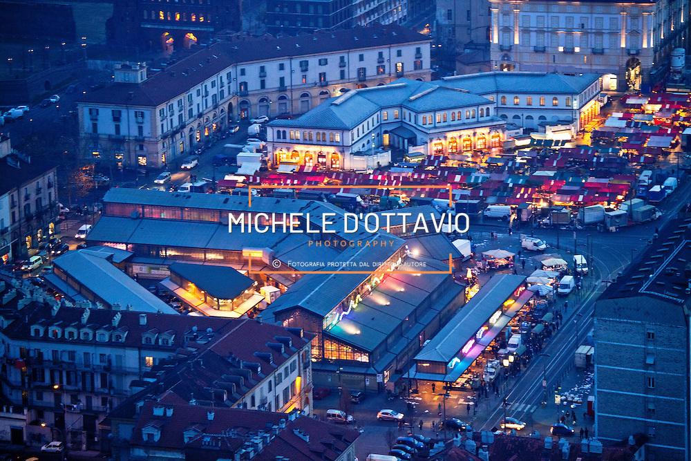 Panoramiche aeree del quartiere di Porta Palazzo