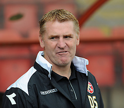 Walsall Manager, Dean Smith - photo mandatory by-line David Purday JMP- Tel: Mobile 07966 386802 23/08/14 - Leyton Orient v Walsall - SPORT - FOOTBALL - Sky Bet Leauge 1 - London -  Matchroom Stadium