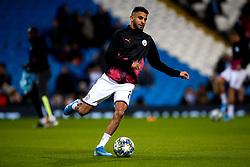 Riyad Mahrez of Manchester City - Mandatory by-line: Robbie Stephenson/JMP - 22/10/2019 - FOOTBALL - Etihad Stadium - Manchester, England - Manchester City v Atalanta - UEFA Champions League Group Stage