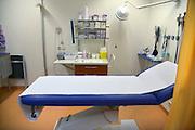 Nederland, Nijmegen, 22-2-2013Een lege onderzoekskamer in een ziekenhuis.Foto: Flip Franssen