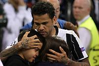 03.06.2017 - Cardiff - Finale di Champions League -  Juventus-Real Madrid nella  foto: Dani Alves deluso a fine partita