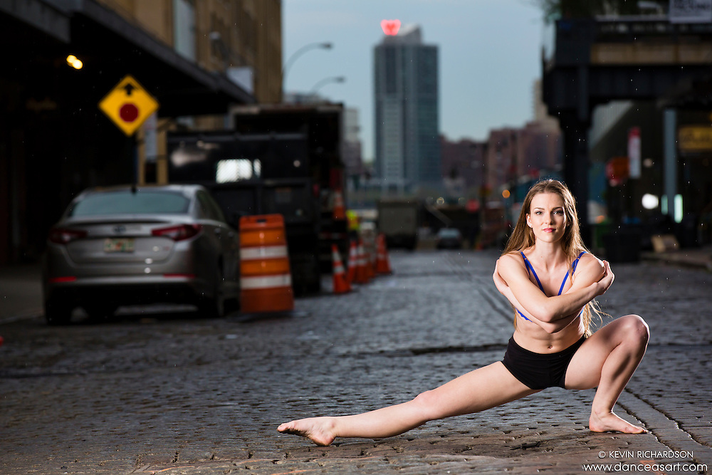 Meat Packing District New York City Dance As Art Photography Project featuring dancer Megganne Smits