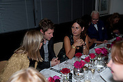 CHRISTOPHER BAILEY; ALEX SHULMAN, Dinner hosted by editor of British Vogue, Alexandra Shulman in association with Net-A-Porter.com in honour of 25 years of London Fashion Week and Nick Knight. Caprice. London.  September 21, 2009