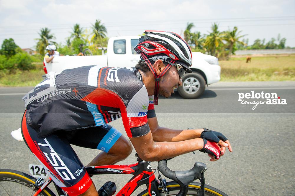 Tour of Thailand 2015/ Stage1/ Nakhon Ratchasima - Buri Ram/ Rosdi Mohd Nor Umardi/ TSG