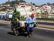Madagascar, Antananarivo, cityscape